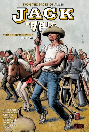 JACK OF FABLES BOOK 2 DELUXE HARDCOVER