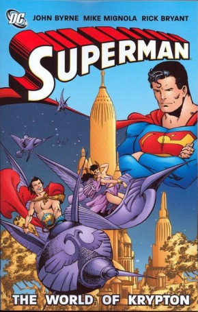 SUPERMAN WORLD OF KRYPTON GRAPHIC NOVEL