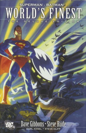 WORLDS FINEST DELUXE EDITION HARDCOVER