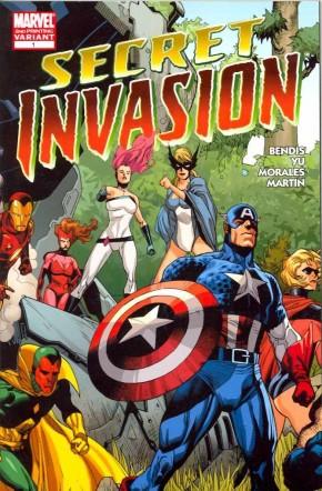 SECRET INVASION #1 2ND PRINTING