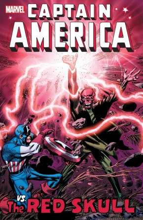 CAPTAIN AMERICA VS RED SKULL GRAPHIC NOVEL
