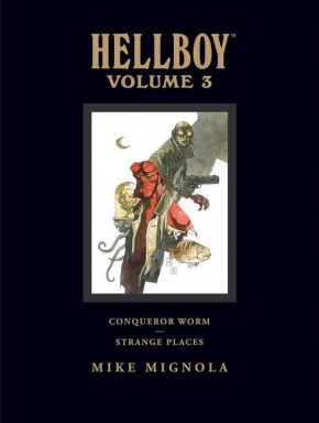 HELLBOY LIBRARY EDITION VOLUME 3 CONQUEROR WORM HARDCOVER