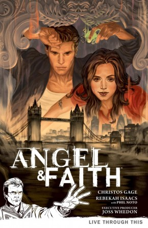 ANGEL AND FAITH SEASON 9 VOLUME 1 LIVE THROUGH THIS GRAPHIC NOVEL