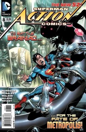 ACTION COMICS #8 (2011 SERIES)