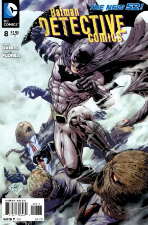 DETECTIVE COMICS #8 (2011 SERIES)