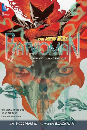 BATWOMAN VOLUME 1 HYDROLOGY HARDCOVER
