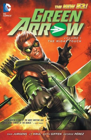 GREEN ARROW VOLUME 1 THE MIDAS TOUCH GRAPHIC NOVEL