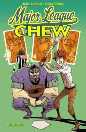 CHEW VOLUME 5 MAJOR LEAGUE GRAPHIC NOVEL