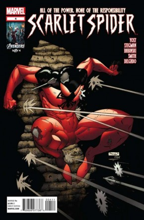 SCARLET SPIDER #4 (2012 SERIES)