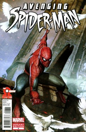 AVENGING SPIDER-MAN #6 (2011 SERIES) GRANOV 1 IN 20 INCENTIVE VARIANT