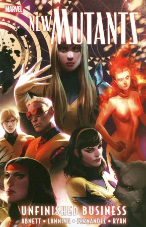 NEW MUTANTS VOLUME 4 UNFINISHED BUSINESS GRAPHIC NOVEL