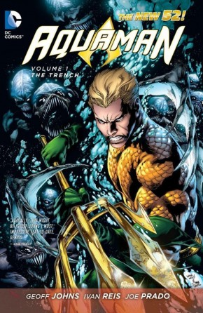 AQUAMAN VOLUME 1 THE TRENCH GRAPHIC NOVEL
