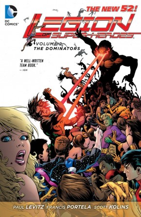 LEGION OF SUPER HEROES VOLUME 2 THE DOMINATORS GRAPHIC NOVEL