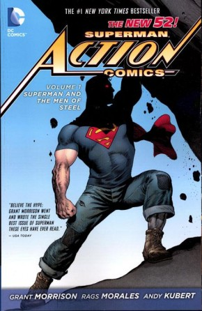 SUPERMAN ACTION COMICS VOLUME 1 SUPERMAN AND THE MEN OF STEEL GRAPHIC NOVEL