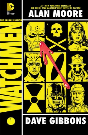 WATCHMEN THE DELUXE EDITION HARDCOVER