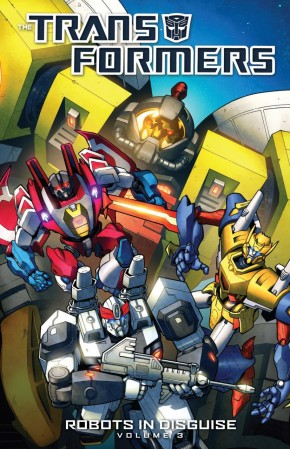 TRANSFORMERS ROBOTS IN DISGUISE VOLUME 3 GRAPHIC NOVEL