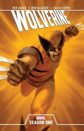 WOLVERINE SEASON ONE HARDCOVER