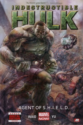 INDESTRUCTIBLE HULK VOLUME 1 AGENT OF SHIELD HARDCOVER
