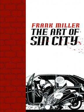 FRANK MILLER THE ART OF SIN CITY GRAPHIC NOVEL