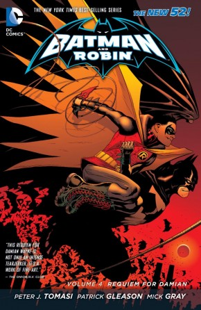 BATMAN AND ROBIN 4 REQUIEM FOR DAMIAN HARDCOVER