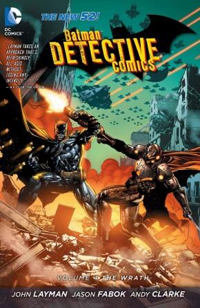 BATMAN DETECTIVE COMICS VOLUME 4 THE WRATH HARDCOVER