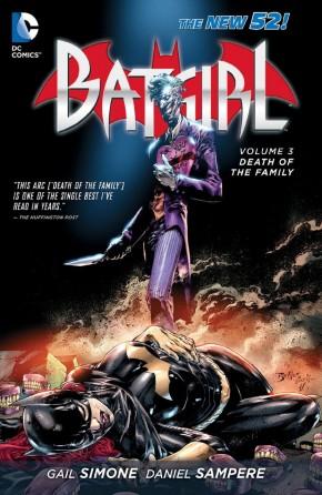 BATGIRL VOLUME 3 DEATH OF THE FAMILY GRAPHIC NOVEL