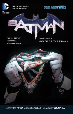 BATMAN VOLUME 3 DEATH OF THE FAMILY GRAPHIC NOVEL