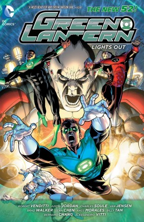 GREEN LANTERN LIGHTS OUT HARDCOVER