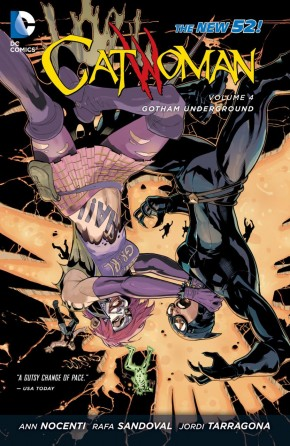 CATWOMAN VOLUME 4 GOTHAM UNDERGROUND GRAPHIC NOVEL