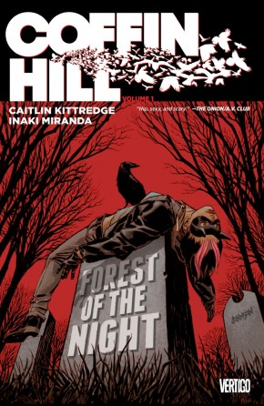 COFFIN HILL VOLUME 1 FOREST OF THE NIGHT GRAPHIC NOVEL