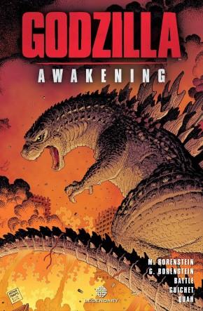 GODZILLA AWAKENING HARDCOVER