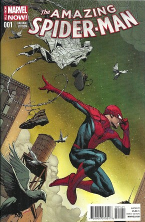 AMAZING SPIDER-MAN #1 (2014 SERIES) OPENA 1 IN 75 INCENTIVE