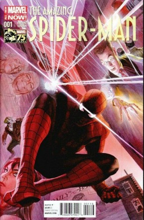 AMAZING SPIDER-MAN #1 (2014 SERIES) ALEX ROSS 1 IN 75 INCENTIVE