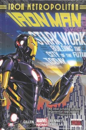 IRON MAN VOLUME 4 IRON METROPOLITAN HARDCOVER