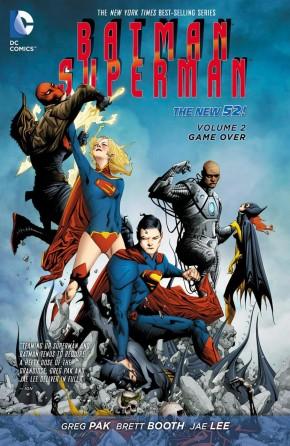 BATMAN SUPERMAN VOLUME 2 GAME OVER GRAPHIC NOVEL