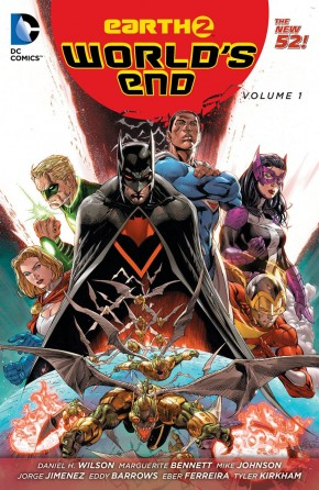 EARTH 2 WORLDS END VOLUME 1 GRAPHIC NOVEL