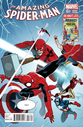 AMAZING SPIDER-MAN #17 (2014 SERIES) AVENGERS 1 IN 15 INCENTIVE