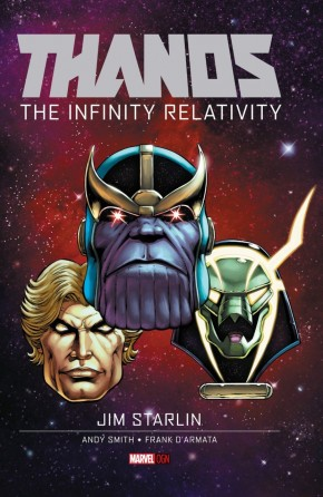 THANOS INFINITY RELATIVITY HARDCOVER