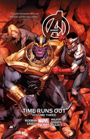 AVENGERS TIME RUNS OUT VOLUME 3 HARDCOVER