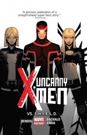 UNCANNY X-MEN VOLUME 4 VS SHIELD GRAPHIC NOVEL