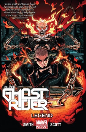 ALL-NEW GHOST RIDER VOLUME 2 LEGEND GRAPHIC NOVEL