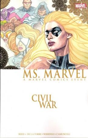 CIVIL WAR MS MARVEL GRAPHIC NOVEL