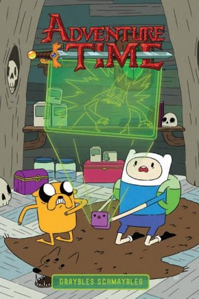 ADVENTURE TIME GRAYBLES SCHMAYBLES VOLUME 5 ORIGINAL GRAPHIC NOVEL