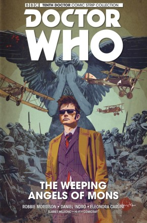 DOCTOR WHO 10TH DOCTOR VOLUME 2 WEEPING ANGELS OF MONS HARDCOVER
