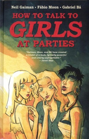 NEIL GAIMANS HOW TO TALK TO GIRLS AT PARTIES HARDCOVER