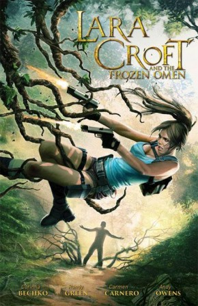 LARA CROFT AND THE FROZEN OMEN GRAPHIC NOVEL