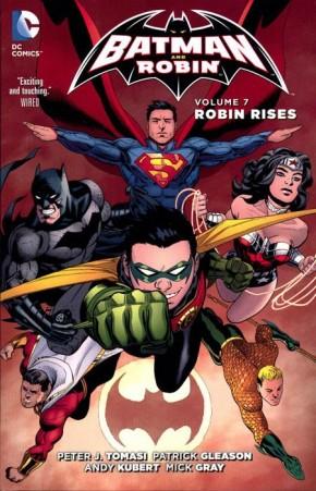 BATMAN AND ROBIN VOLUME 7 ROBIN RISES GRAPHIC NOVEL