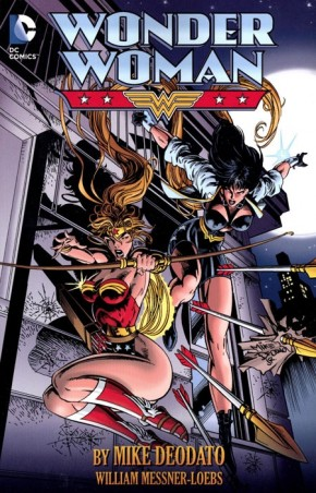 WONDER WOMAN BY MIKE DEODATO GRAPHIC NOVEL