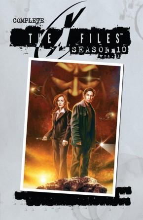 X-FILES COMPLETE SEASON 10 VOLUME 1 GRAPHIC NOVEL