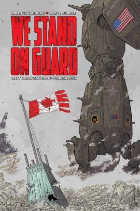 WE STAND ON GUARD DELUXE EDITION HARDCOVER